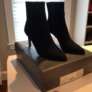 Ann Taylor Elisa Pointy Toe Heeled Bootie